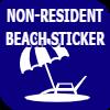 Non-Resident Beach Sticker
